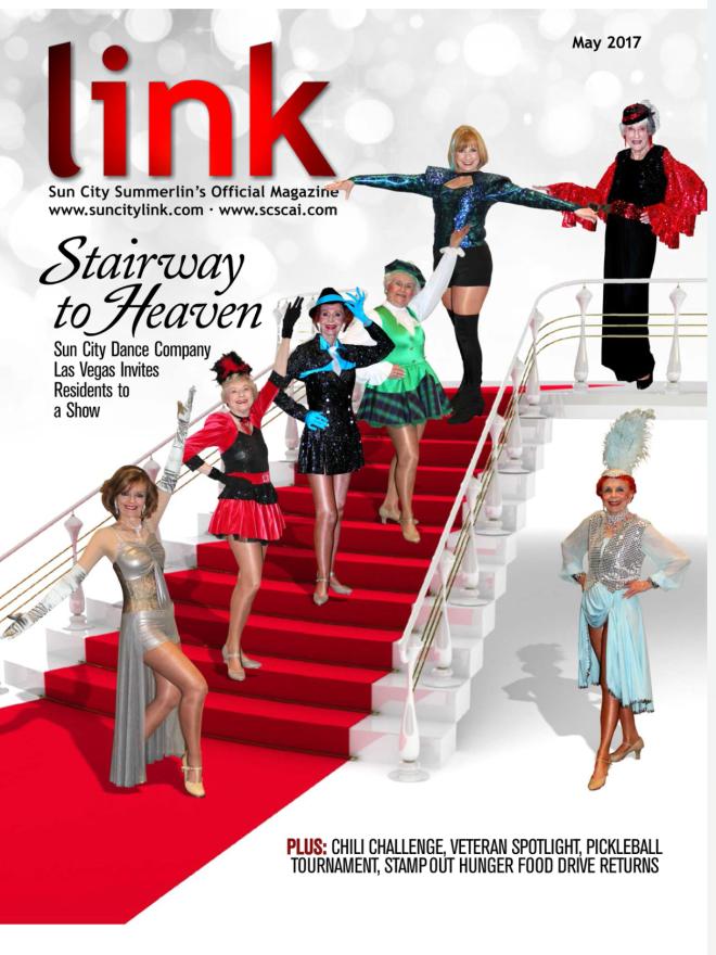 Link Magazine cover