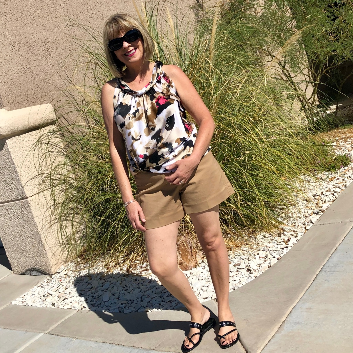 Tan Shorts TwoWays
